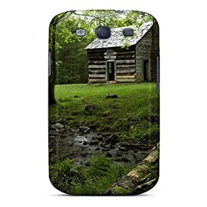 Shock-dirt Proof Cabin In The Forest Case Cover For Galaxy S3