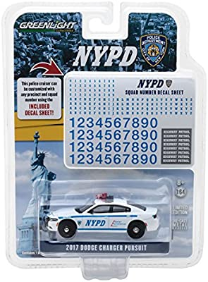 GREENLIGHT 51178 NEW YORK STATE TROOPER 2017 DODGE CHARGER PATROL CAR