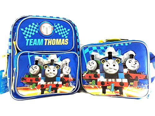 Thomas the Train Boys No. 1 Thomas 16 Backpack W Matching Lunch Bag