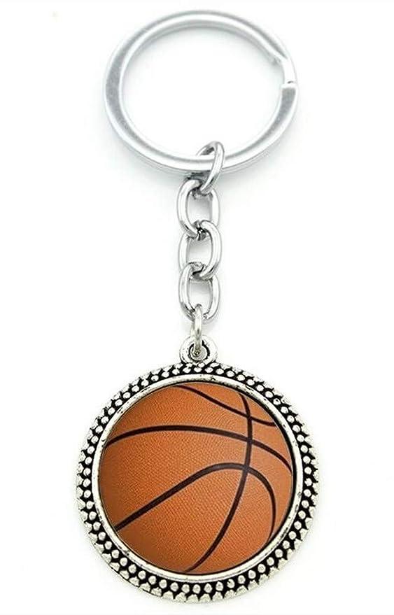 Générique Llavero con diseño de balón de Baloncesto.: Amazon.es: Hogar