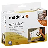 : Medela Quick Clean Micro-Steam Bags, 5 Count