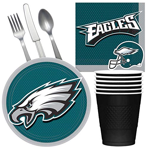 Costume SuperCenter NFL Philadelphia Eagles Tailgate Party Pack (for 16 Guests) for $<!--$20.08-->