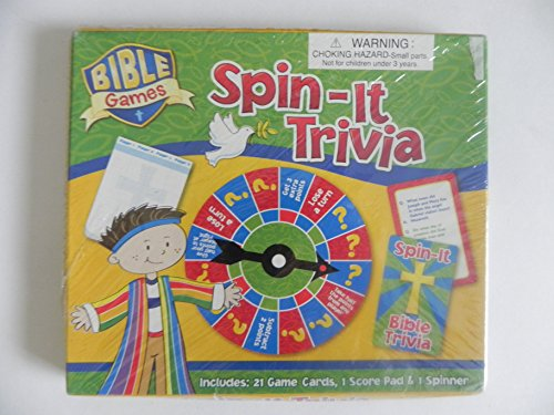 Bible Games - Spin-It Trivia - Buy Online in Oman