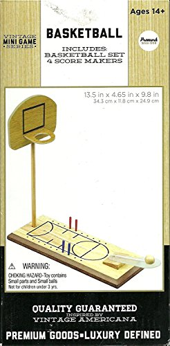 Promark Vintage Mini Game Series Basketball Wood Ages 14