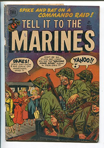TELL IT TO THE MARINES #3 1952-TOBY-ATOMIC BOMB (Marine Ups)