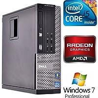 Dell Optiplex 9010 SFF Business Desktop PC, Intel Core i5 Processor, 4GB DDR3 RAM, 250GB HDD, DVD+/-RW, AMD Radeon HD 7470 Graphics, Windows 7 Professional (Certified Refurbished)