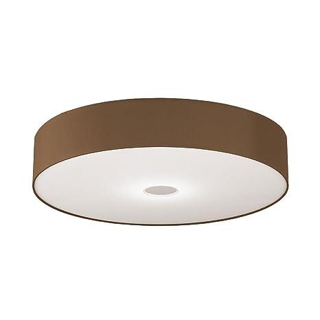 Pantalla de Tela capuchino para - Lámpara LED de techo ...