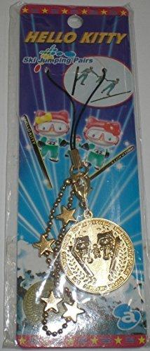HELLO KITTY Hello Kitty limited ski jumping pairs gold medal cast strap Sanrio Sanrio