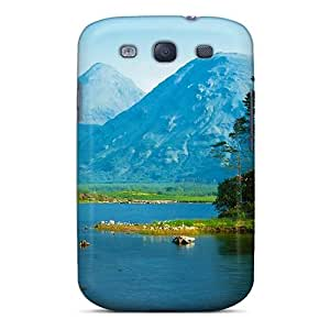 Hot NZUFxPa3279ApUqw Case Cover Protector For Galaxy S3- Glen Etive Scotl