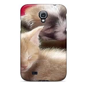 NikRun Slim Fit Tpu Protector LCMam3862lEkWl Shock Absorbent Bumper Case For Galaxy S4