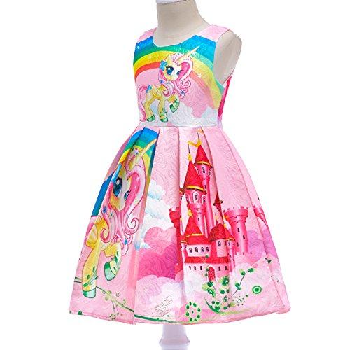 Dressy Daisy Girls My Little Pony Dress Costumes Unicorn Costumes Fancy Dress up Size 6 Pink FC127 by Dressy Daisy (Image #2)