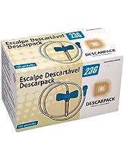 Escalpe Descartável Estéril Scalp 23g Descarpack - 100 Und
