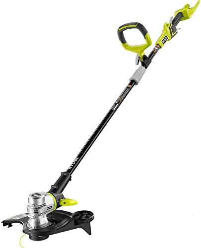 Ryobi RY40201A 40-Volt Baretool Lithium-Ion Cordless String Trimmer Edger – Battery and Charger Not Included Renewed