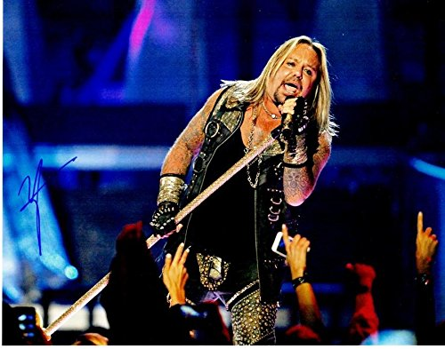 Vince Neil Signed - Autographed Motley Crue Singer 11x14 inch Photo - Guaranteed to pass BAS - Beckett Authentication
