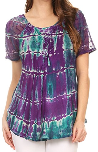ikat shirt dress - 3