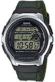 [カシオ] 腕時計 ウェーブセプター 電波時計 WV-M60B-3AJF メンズ グリーン