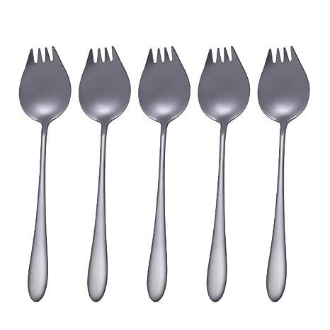 ACMEDE - Juego de cubiertos para ensalada, tenedores de frutas, tenedores de pasta 2