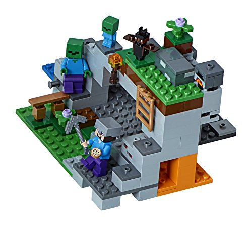 LEGO Minecraft The Zombie Cave 21141 Building Kit (241 Piece) by LEGO (Image #1)