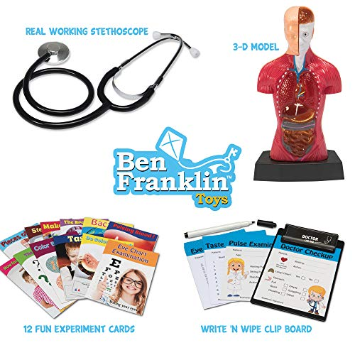 51wUfxIxl8L - Ben Franklin Toys Doctor Lab Pad Biology Kit