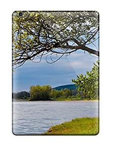 New Ipad Air Case Cover Casing(nature In The River)