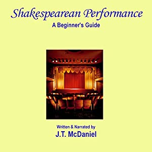 Shakespearean Performance: A Beginner's Guide Audiobook