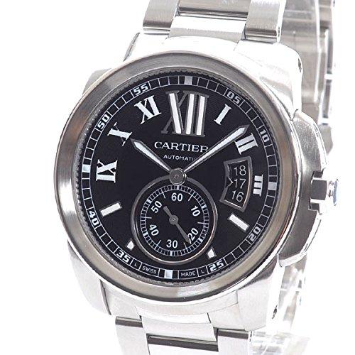 [カルティエ]Cartier 腕時計 カリブルドゥカルティエ W7100016 中古[1301037] ブラック付属:国際保証書 B07DCJDHF3