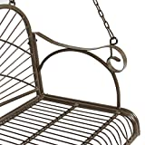 Best Choice Products Hanging Iron Porch Swing