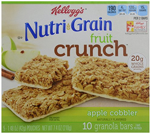 Nutri Grain Nutri-grain Fruit Crunch