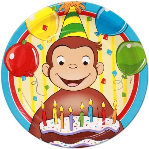 Remarkable Amazon Com Curious George Edible Cake Topper Frosting 1 4 Sheet Personalised Birthday Cards Paralily Jamesorg