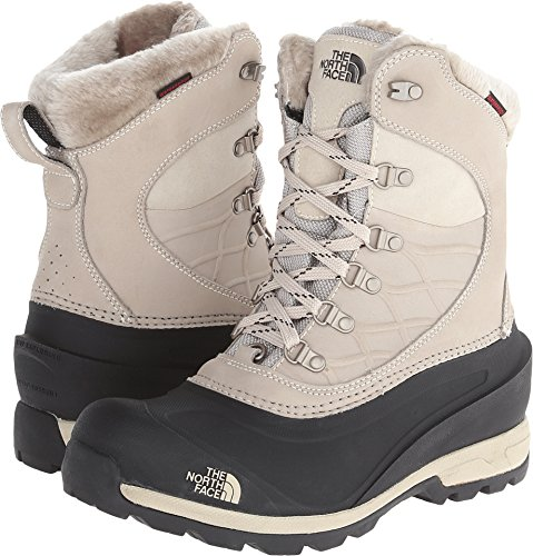 The North Face Chilkat 400 Boot Women's Simply Taupe Brown/TNF Black 7.5 by The North Face