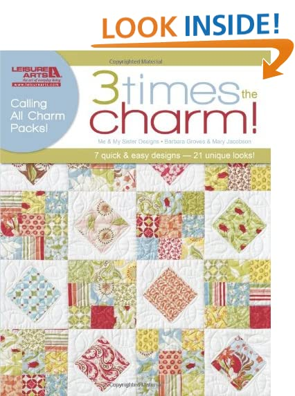 Quilting Patterns Charm Packs : Charm Pack Quilt Patterns: Amazon.com