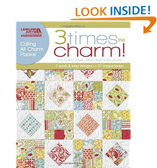 Charm Pack Quilt Patterns Amazon Amazing Quilt Patterns Using Charm Packs