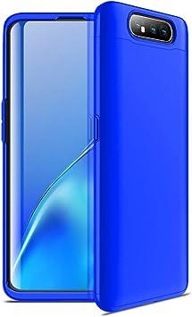 NOKOER Samsung Galaxy A80 Funda, 3 en 1 Todo Incluido Case ...