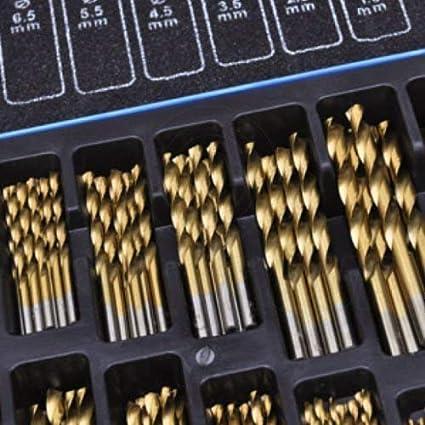 170 piezas Broca De Cobalto Set (HSS-Co / Inoxidable)  HSS Metal - Diseñada para Acero Inox