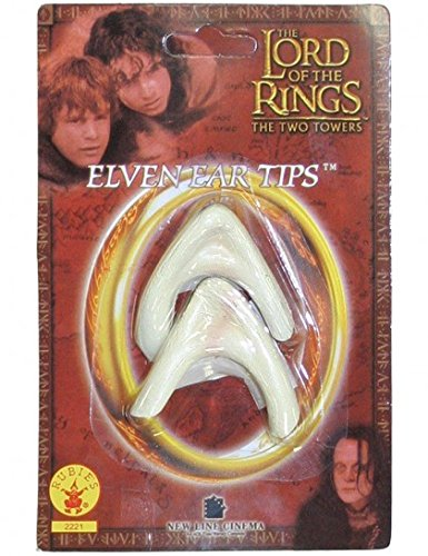 Elf Princess Lord Of The Rings Costume (Rubie's Lord of the Rings Elf Ear tips Adult Costume Accessory)