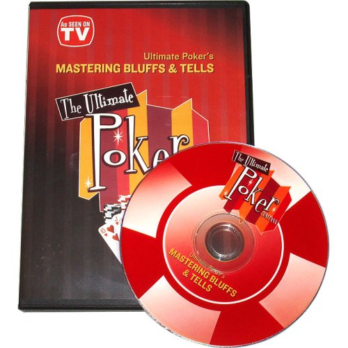 Mastering Bluffs & Tells Poker DVD By Ultimate - Dvd Ultimate Poker Collection
