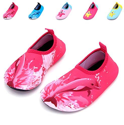 Giotto Kids Swim Water Shoes Quick Dry Antiscivolo Per Ragazzi E Ragazze D1-pink