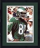 Framed Cris Carter Philadelphia Eagles Autographed 8'' x 10'' Close Up Hands On Hip Photograph - Fanatics Authentic Certified
