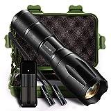Best Flashlights With Waterproof Selfs - Led Tactical Flashlight, Larnn 1000Lumens Ultra-Bright XML-T6 Handheld Review