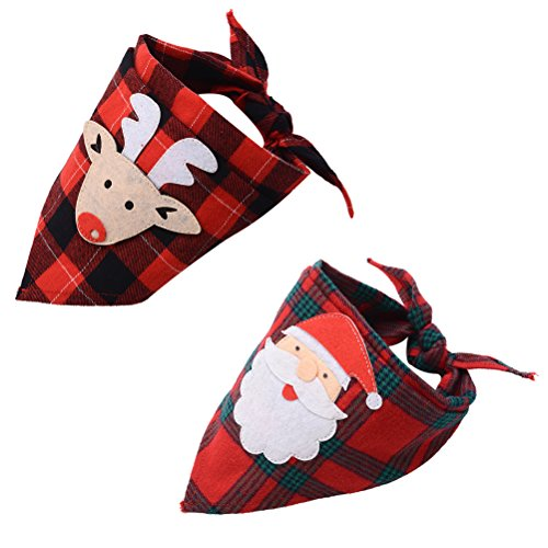 2 pc Pet Bandanna Set