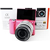 Sony ?5000 PowerZoom Lens Kit (Pink)