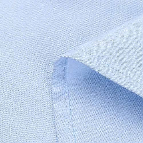De Larga Azul Mujeres Elegante OtoñO Cintura De Y AlgodóN De Las Color Casuales Largo SóLido DEELIN El Hermoso De De Manga Lino Invierno Alta Vestido Suelto 674dYqB