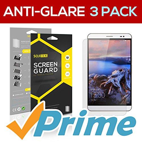 SOJITEK Huawei MediaPad X2 Premium Anti-Glare Anti-fingerprint Matte Screen Protector [3 Packs] - Lifetime Replacements Warranty + Retail Packaging