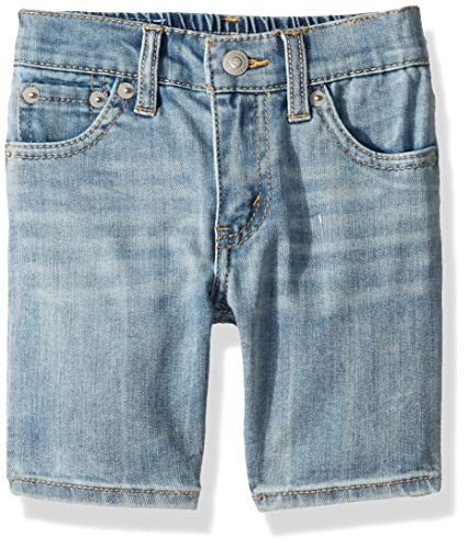 Levi's Boys' Toddler 511 Slim Fit Denim Shorts, Dogtown Plain 3T