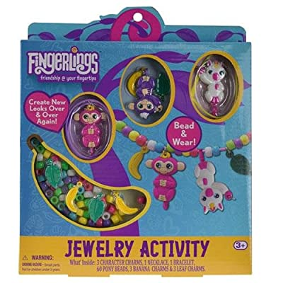 Fingerlings Jewelry Activity Toy: Toys & Games