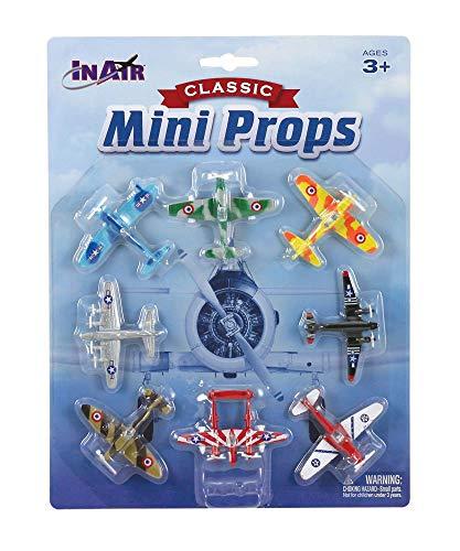 - InAir Classic Mini Props Diecast Planes - 8 Piece Set