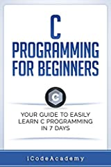 Are You Ready To Learn C Programming Easily? This book is also designed for software programmers who want to learn the C programming language from scratch. It provides you with an adequate understanding of the programming language. From ther...