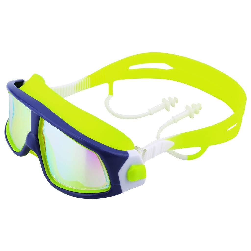 Swim Goggles Swim Glasses No Leaking Anti Fog UV Protection for Adult Kids Shatter-Proof Watertight Triathlon Goggle