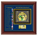 FIFA World Cup Historical Host Country Pin Set - Limited 5,000