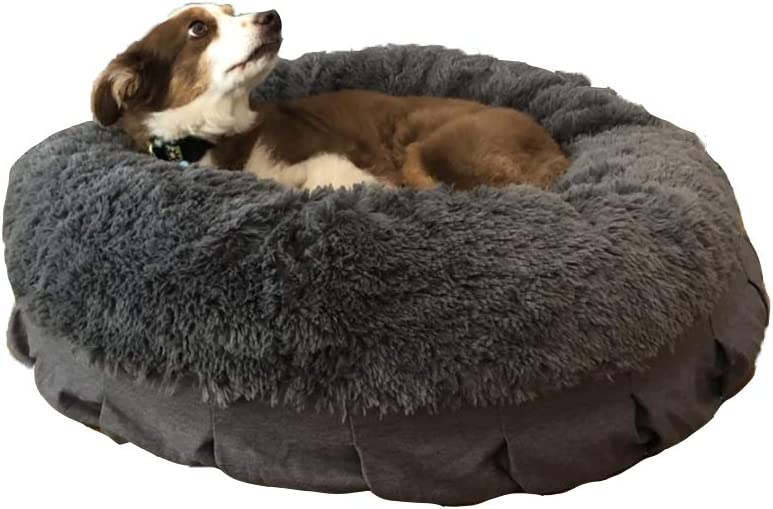 Tyteps Ranking TOP6 Dog Bed Cat Cushion Faux Cuddler for Donut Do Louisville-Jefferson County Mall Fur